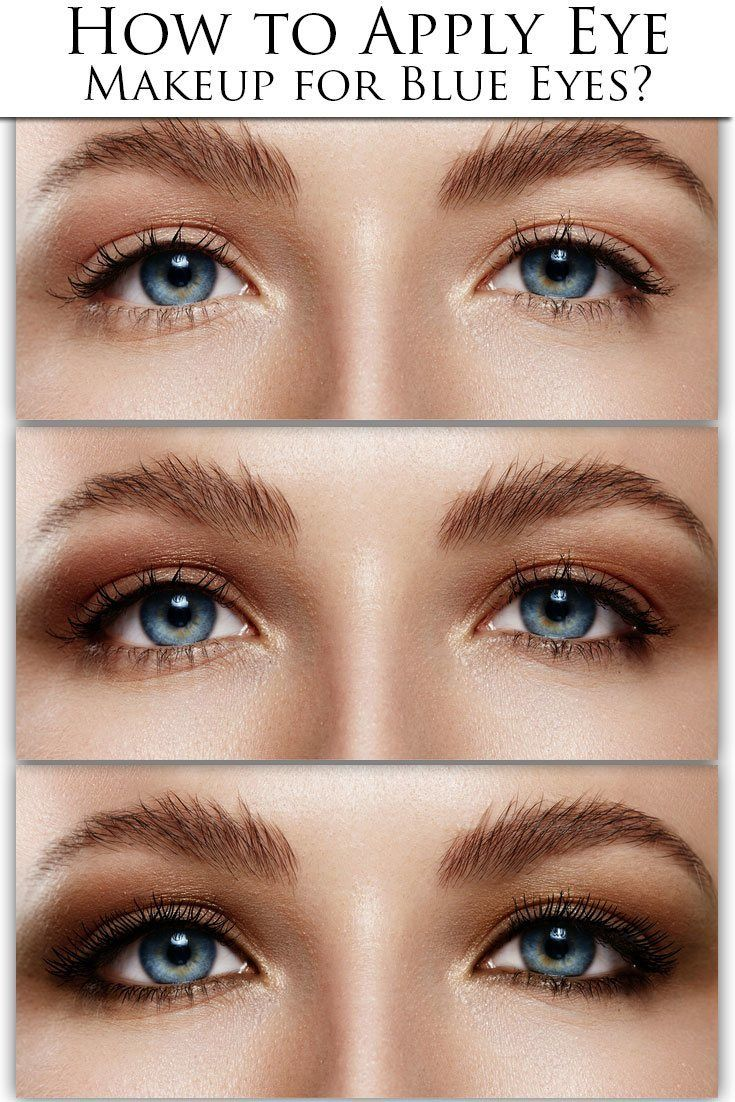 Have you got Blue Eyes? Learn what makeup will make them