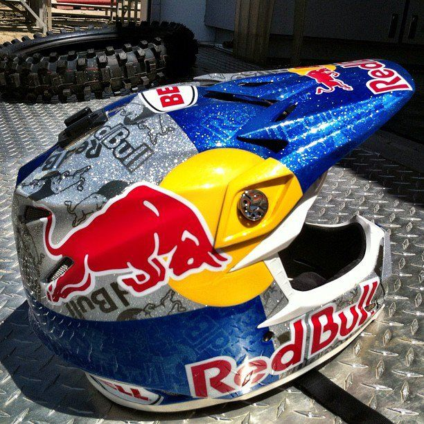 Redbull Motocross Helmets Mountain Biking Gear Racing Helmets