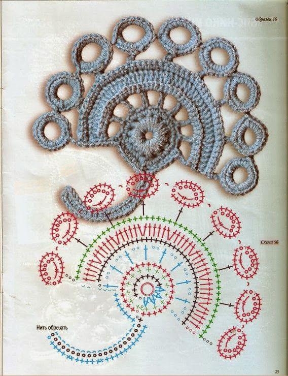 Irish Crochet motives |Gunadesign Handmade Design Barn