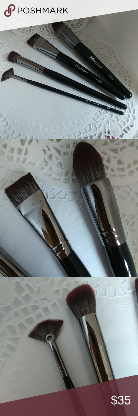4 Piece MORPHE Brush Set NEW NWT Morphe brushes set