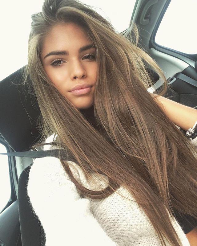 Light brown hair teen