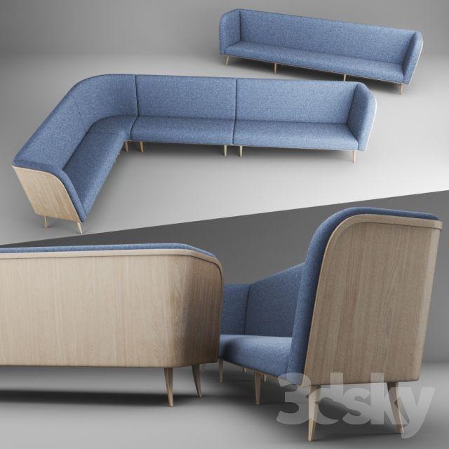 Modular sofa for restaurant   3D SOFA   Sofa, Modular sofa, Corner sofa