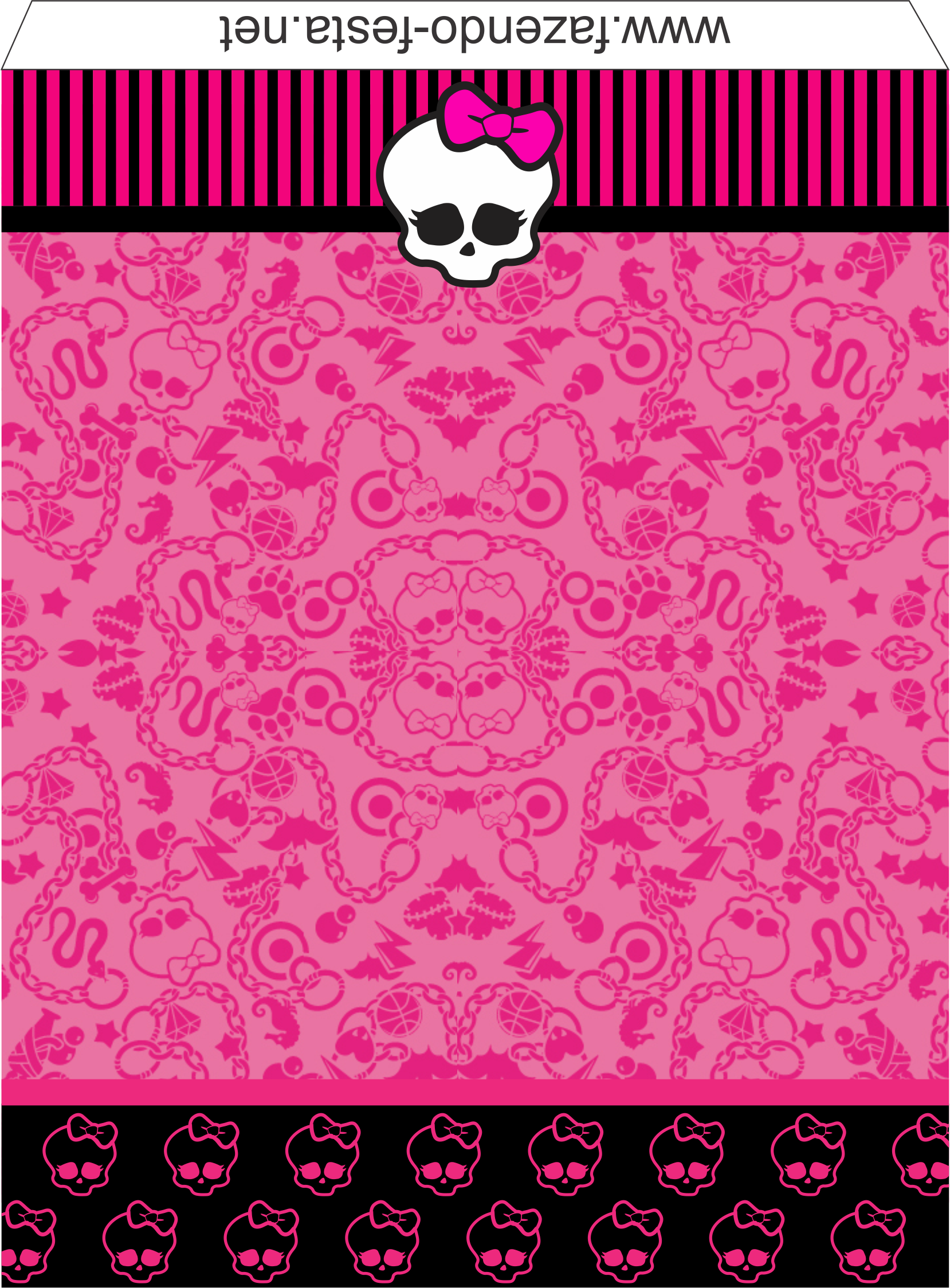 Monster High: Etiquetas de Candy Bar para Imprimir Gratis ...