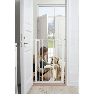Scandinavian Pet Extra Tall Gate White White Dogs Gate