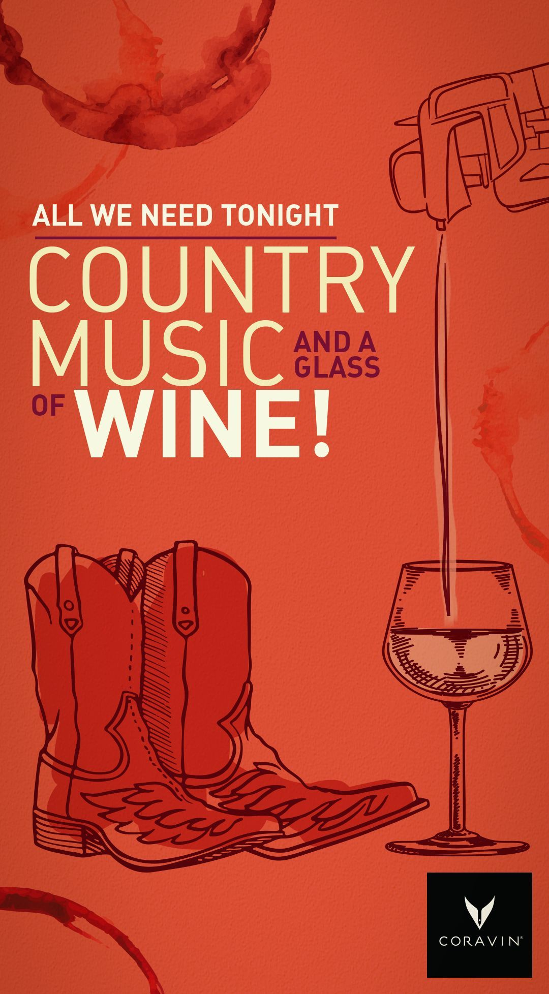 Tonight Is The 2018 Cmt Awards Country Music Isn T All Whiskey And Beer These Days So Grab Your Coravin Pour A Nice Coravin Wine By The Glass Country Music