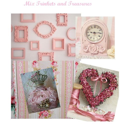 Shabby chic little girls bedrooms decor pink rooms - Little girls shabby chic bedroom ...