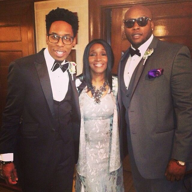 DEITRICK HADDON MOTHER BROTHER WEDDING DAY 2013