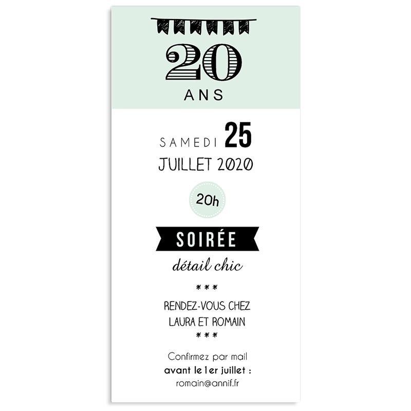 invitations anniversaire adulte vignettes 20 ans creas divers pinterest invitation. Black Bedroom Furniture Sets. Home Design Ideas