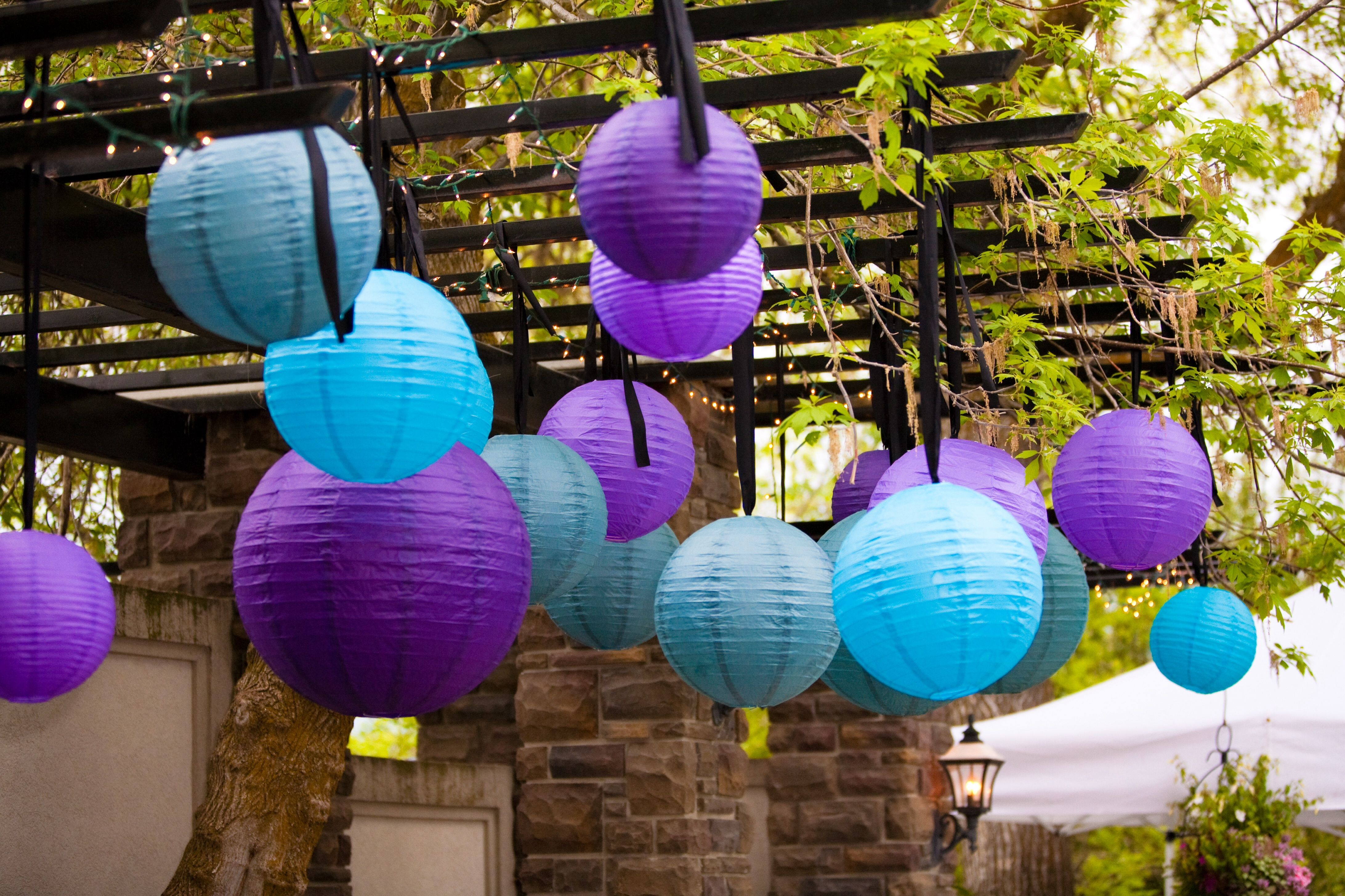 Event Masters Decor Chinese Lanterns Outdoor Party Decorations