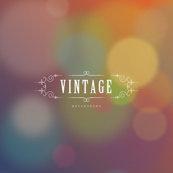Vintage Background Vector Graphic