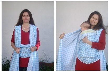 Make A Baby Sling In Minutes I Desperately Want To Try And Make