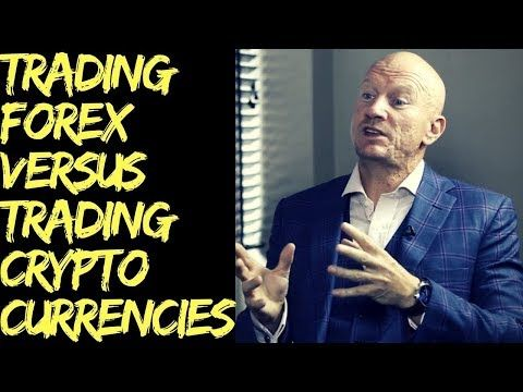 Bitcoin volume versus forex