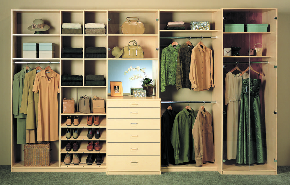 Image Result For Built In Closet Systems