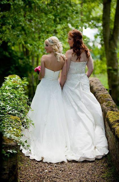Wedding Photographs Lesbian Wedding Bride Lesbian Wedding Photos