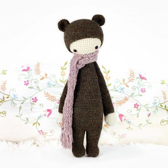 Amigurumi Dolls By Artist Lydia Tresselt : lalylala crochet patterns for handmade dolls - NOT for ...