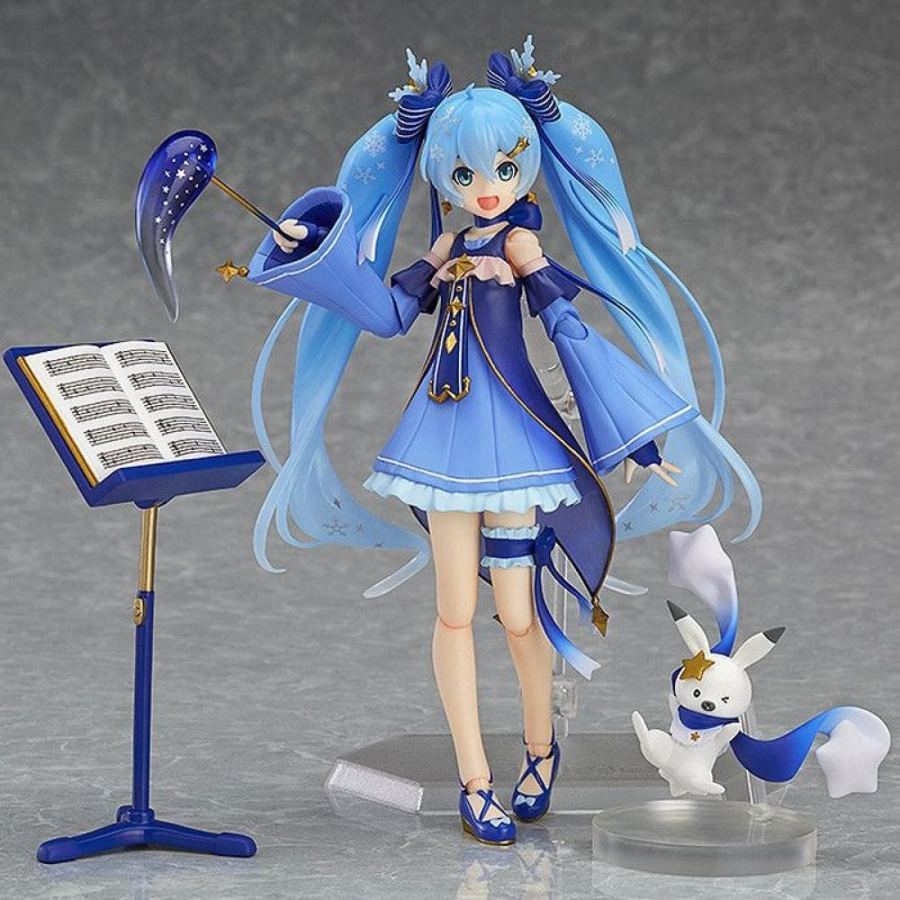New Hatsune Miku PVC Action Figure Figma Figures Manga Toy Statue Gift Collect