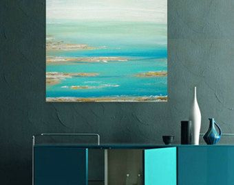 Art Large Painting Original Abstract Acrylic by OraBirenbaumArt