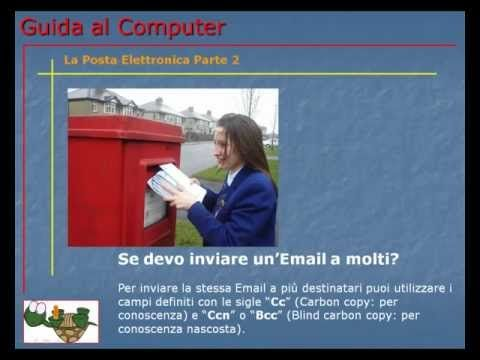 Lezione 75 (VIDEO) - LA POSTA ELETTRONICA PARTE 2. Ecco come consultare ed inviare Email dal sito del fornitore del servizio.