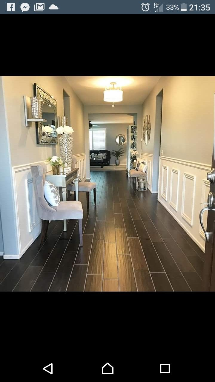 Narrow hallway colours  Pin by Tammi Cooper on Foyer Ideas  Pinterest  Foyers and Hall