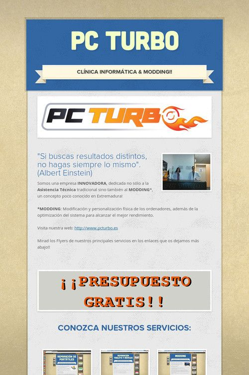 flyer online de pc turbo la clínica informática especializada en