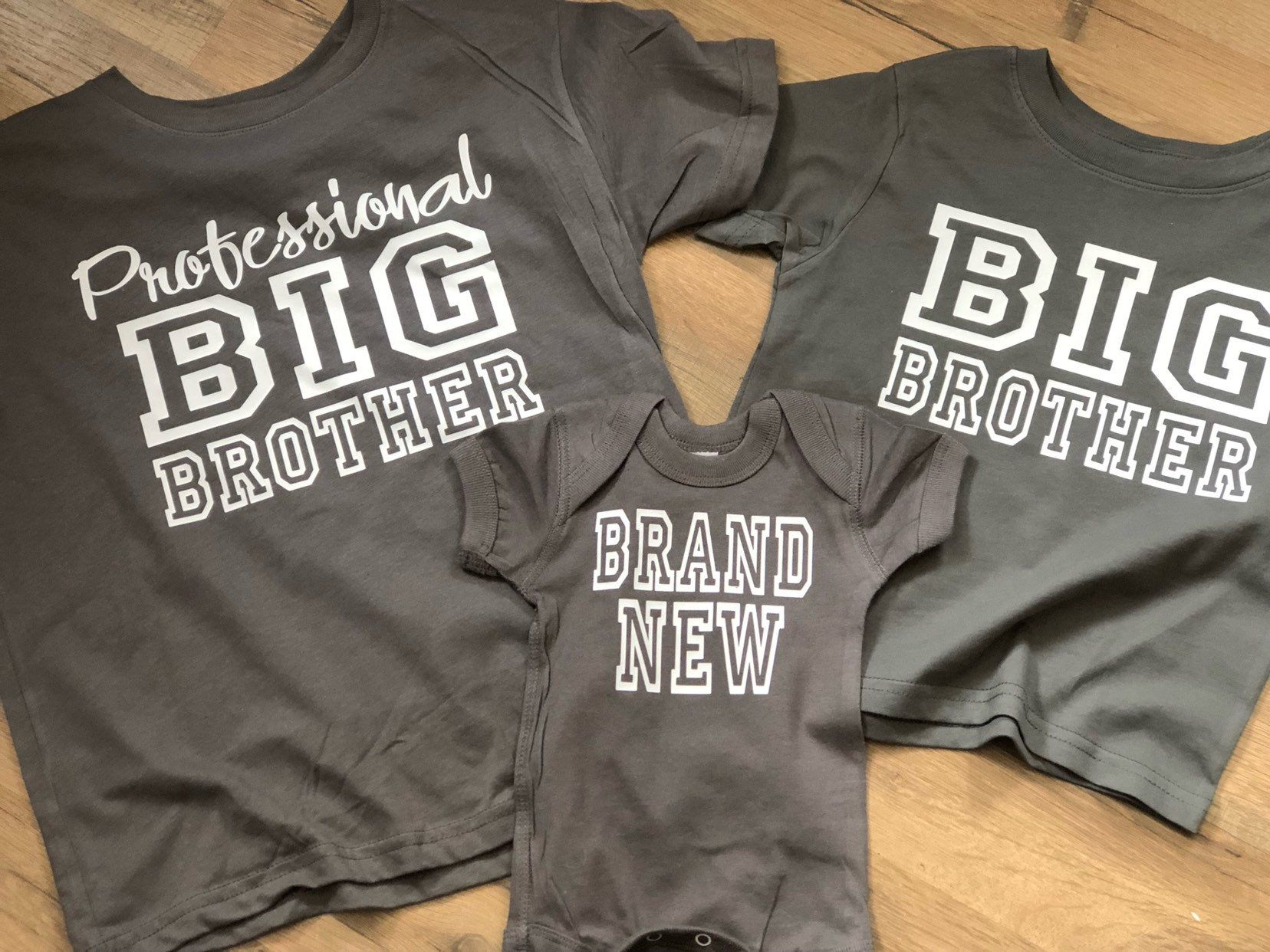 Little Brother Bear Bodysuit  gender reveal sibling shirts bear shirts baby announcement Big Brother Bear Shirt pregnancy reveal