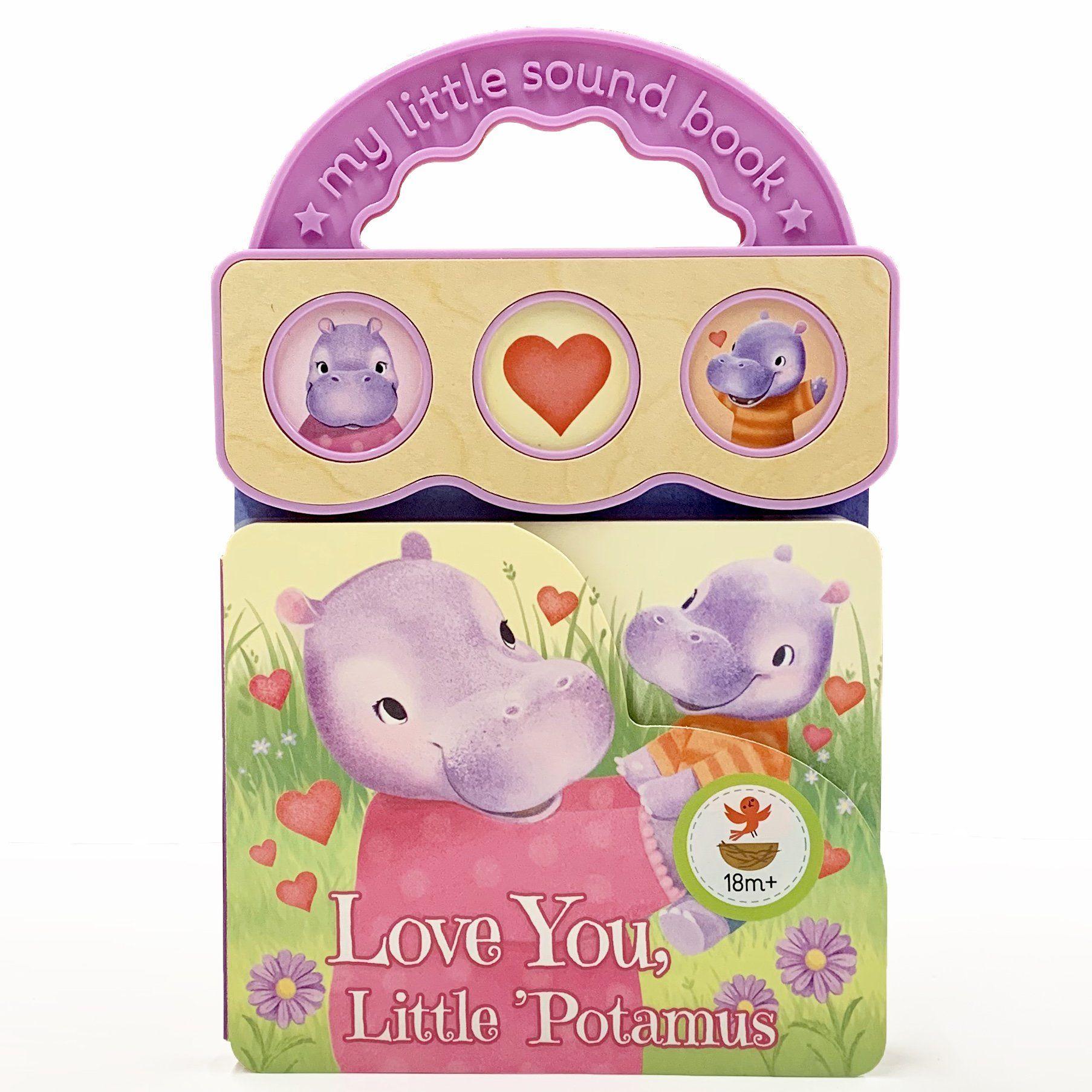 Love You Little Potamus Sing Smile Picture Icon Press The