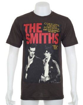 65560345e Amazon.com: THE SMITHS T-Shirt Size Large Rock Morrissey Johnny Marr New  Black Tee: Clothing