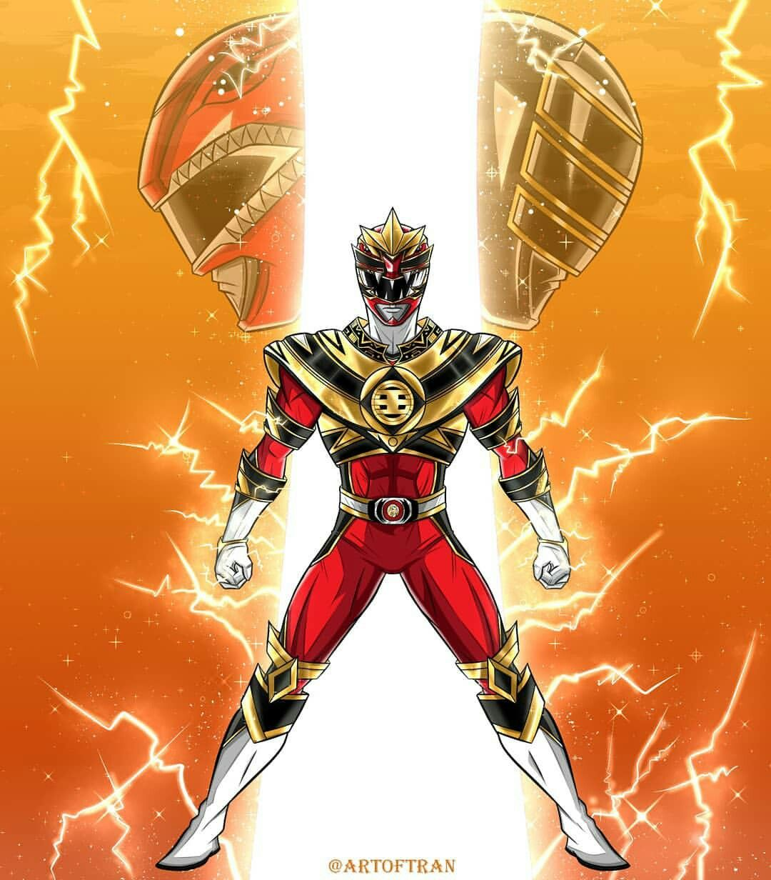 Power Rangers: Shattered Grid King Tyranno - Artist: Tinh Hung Vo ...