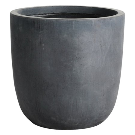 Kasamodern Modern Concrete Round Pot Planter Walmart Com Planter Pots Planters Modern Garden