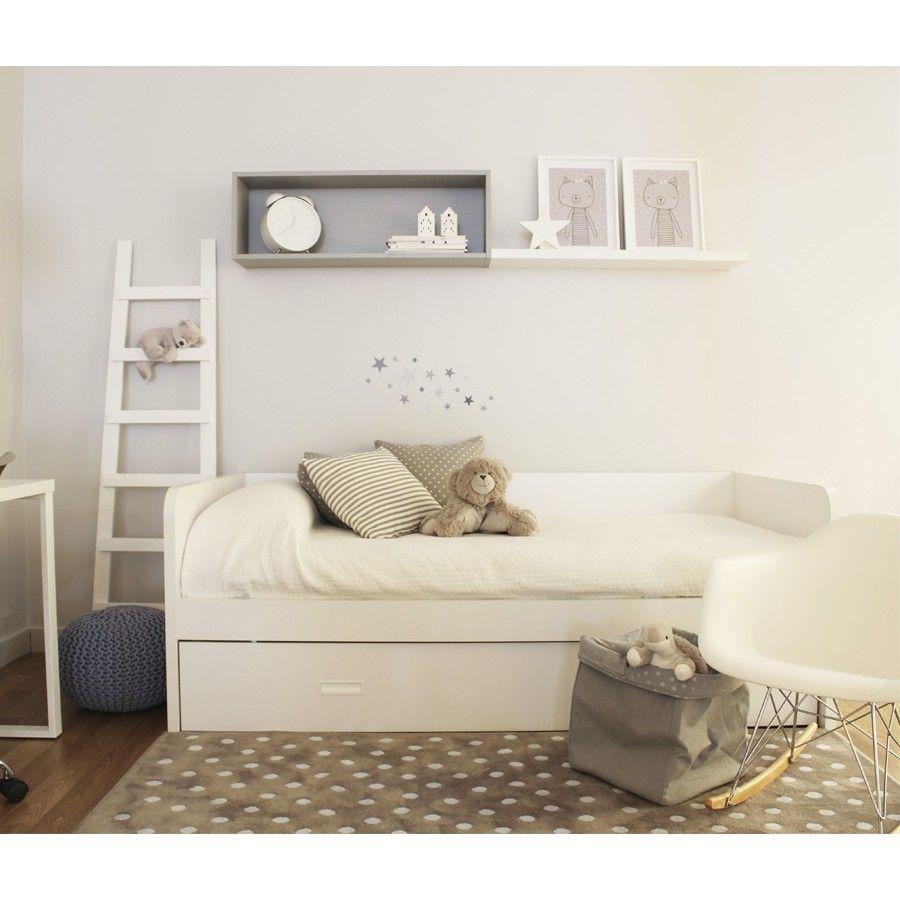 Play cama nido literas infantiles camas nido y litera for Cama divan nina