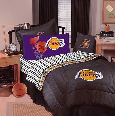 Lakers Bed Set Los Angeles Lakers Denim Basketball Bedding Comforter Queen Bed Kid S