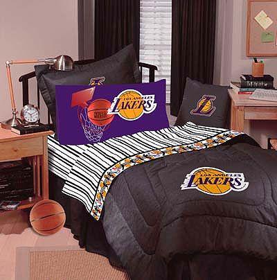 lakers bed set | ... Los Angeles Lakers - Denim Basketball ...