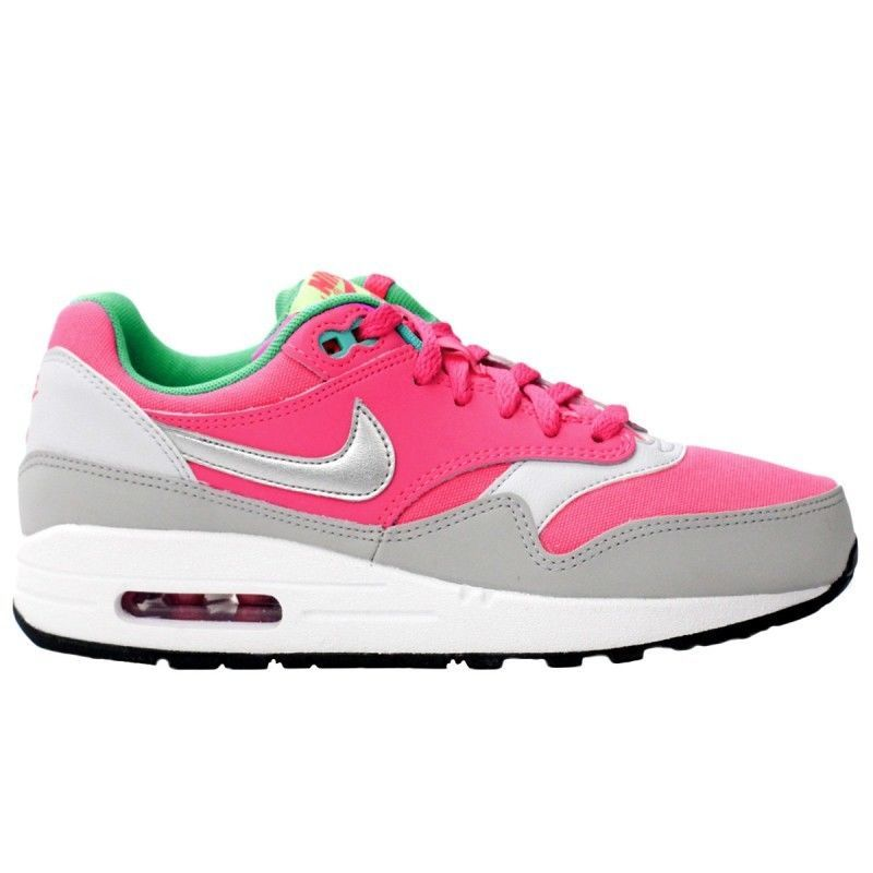 NEW NIKE AIR MAX 1 Womens 8 (6.5Y) HOT PINK Classic Running ...