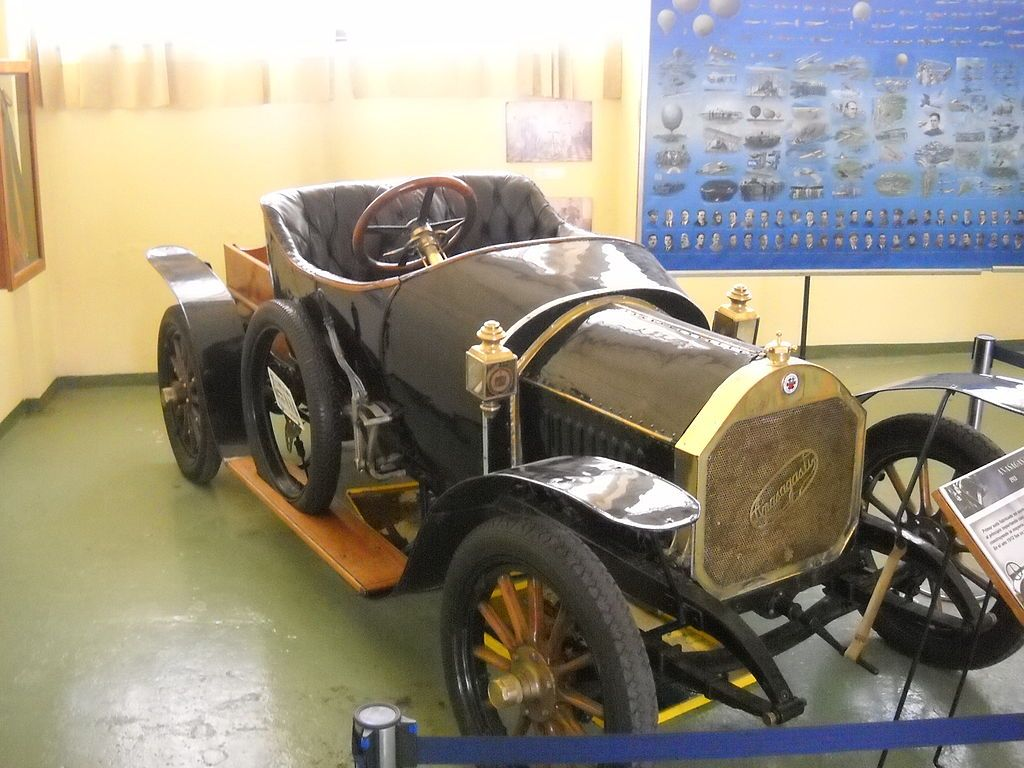 Anasagasti, 1914 - The Anasagasti was the first automobile to be ...
