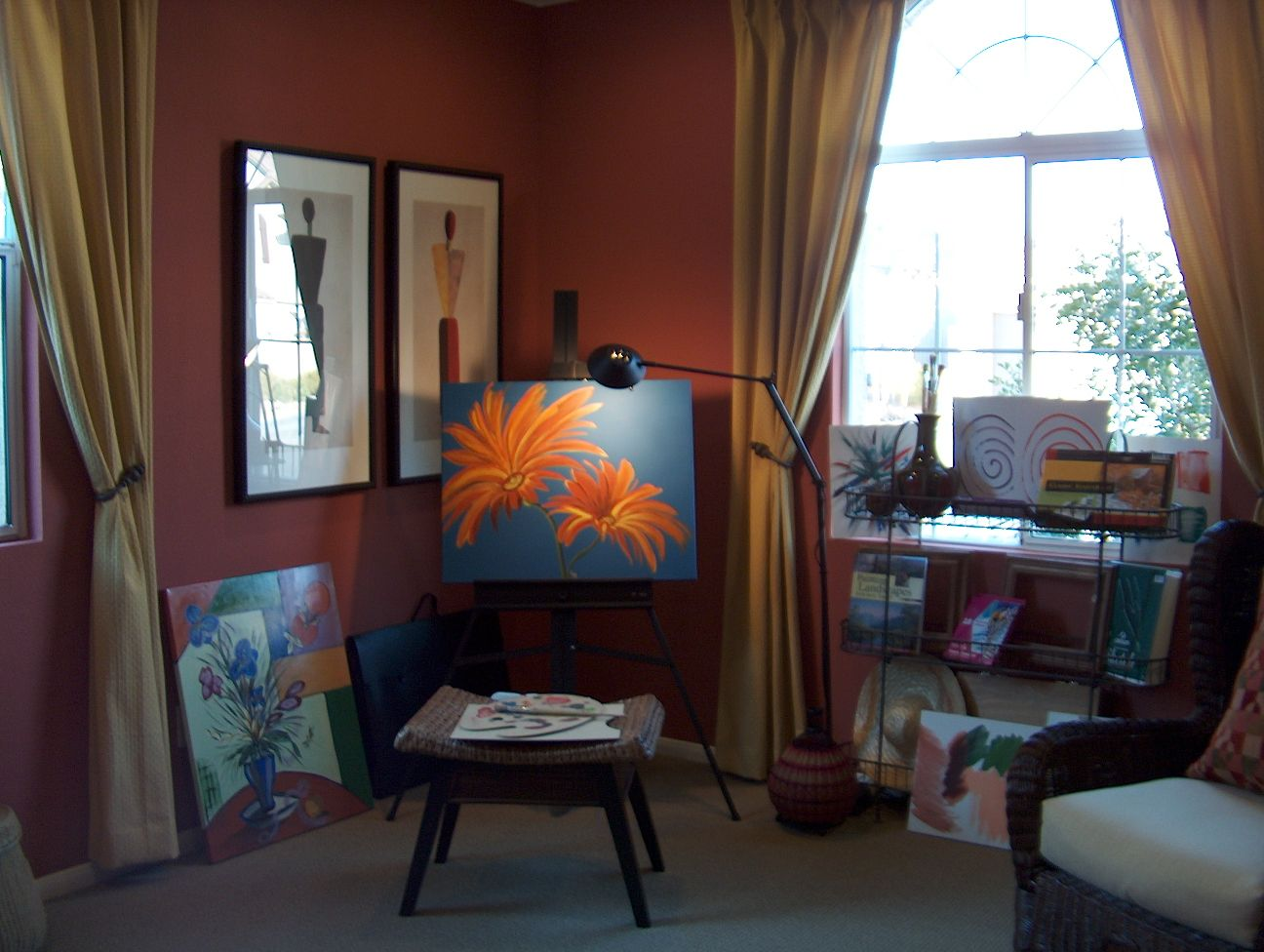 An Elegant art room