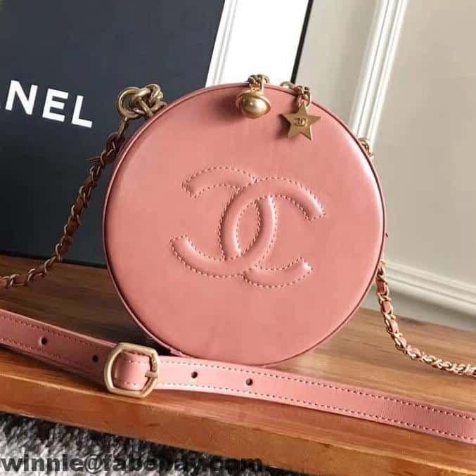 ac3416080918a3 Chanel CC Logo Round Evening Bag A91946 2017 | Chanel | Chanel bag ...