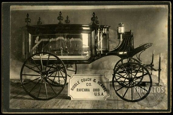 1890 Tcc Hearse Victorian Funeral
