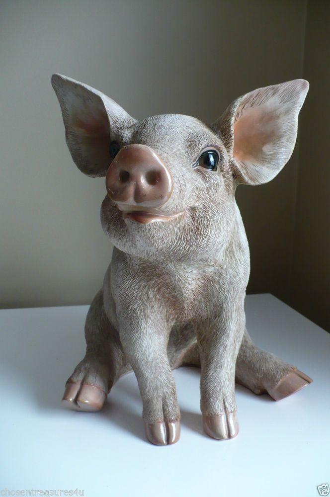 Parsnip Pig Garden Statue