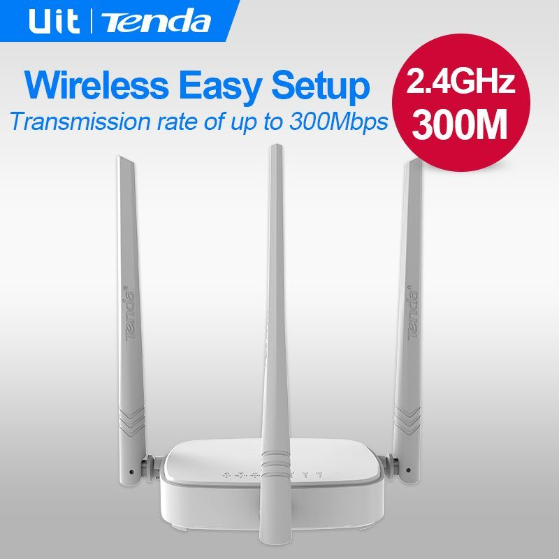 Tenda N318 300Mbps Wireless WiFi Router Wi-Fi Repeater, Home ...