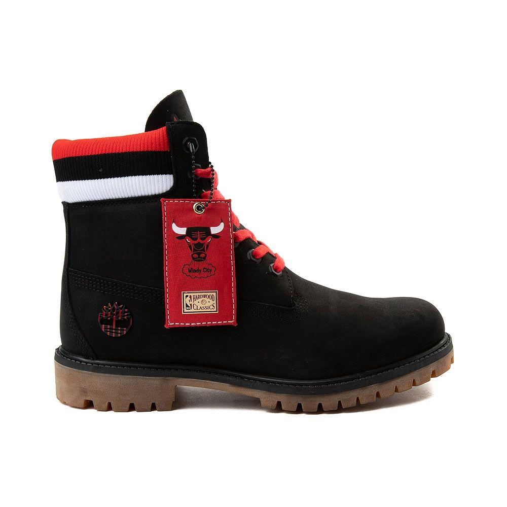 80c92f0bcf01 Mens Timberland x Mitchell   Ness x NBA Chicago Bulls 6 Boot - Black -  531862