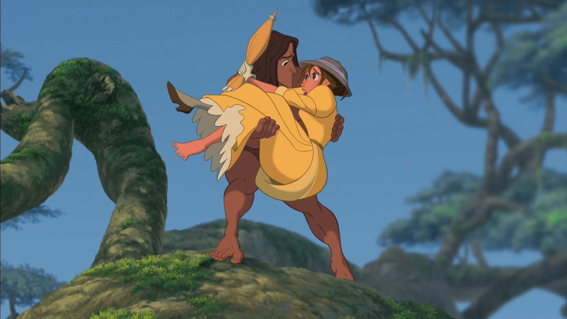 Awkward meeting *TARZAN & JANE ~ Tarzan, 1999 | Disney is My