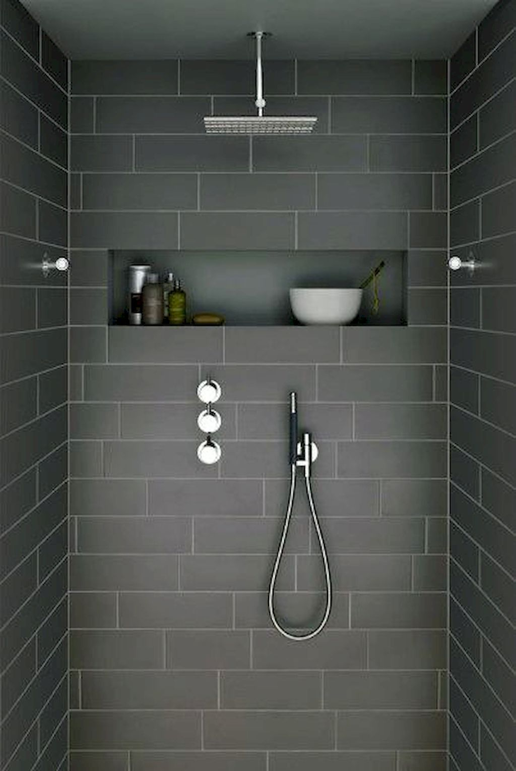 65 Beautiful Modern Bathroom Shower Ideas #bathrooms