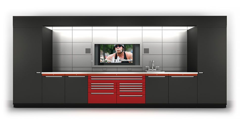 Gl Neos Elite Cabinets Calgary Garage Cabinet System