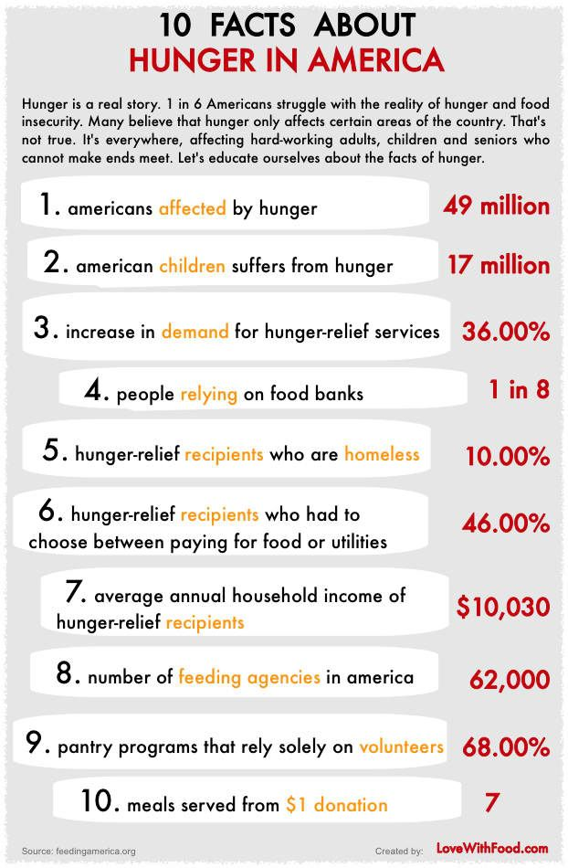 10 Fact About Hunger In America Food Insecurity World Essay On Security