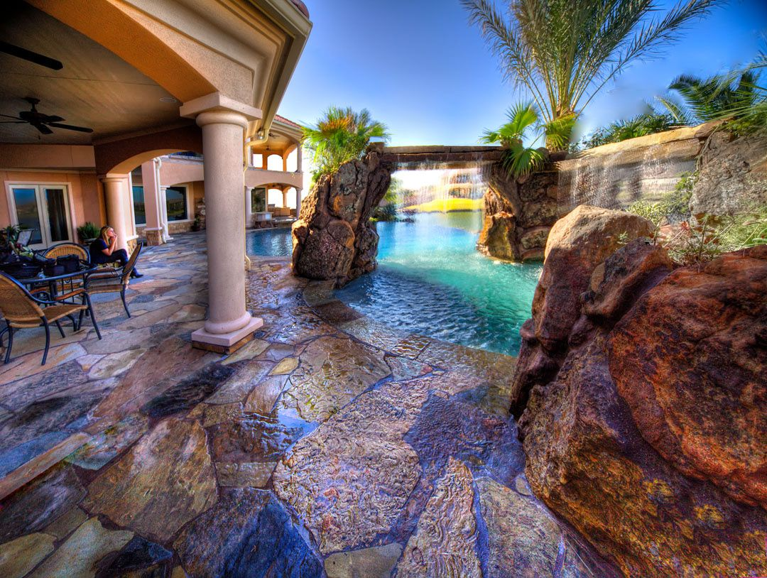 Lagoon Pool. Now if I could only find that money tree, I'd ... on Dream Backyard With Pool id=26474