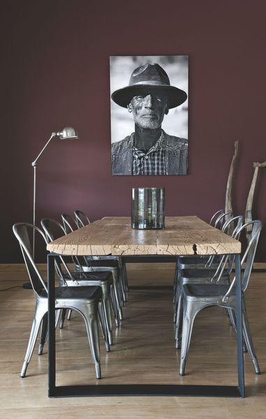 R sultat de recherche d 39 images pour peinture noire pour - Peinture style industriel ...