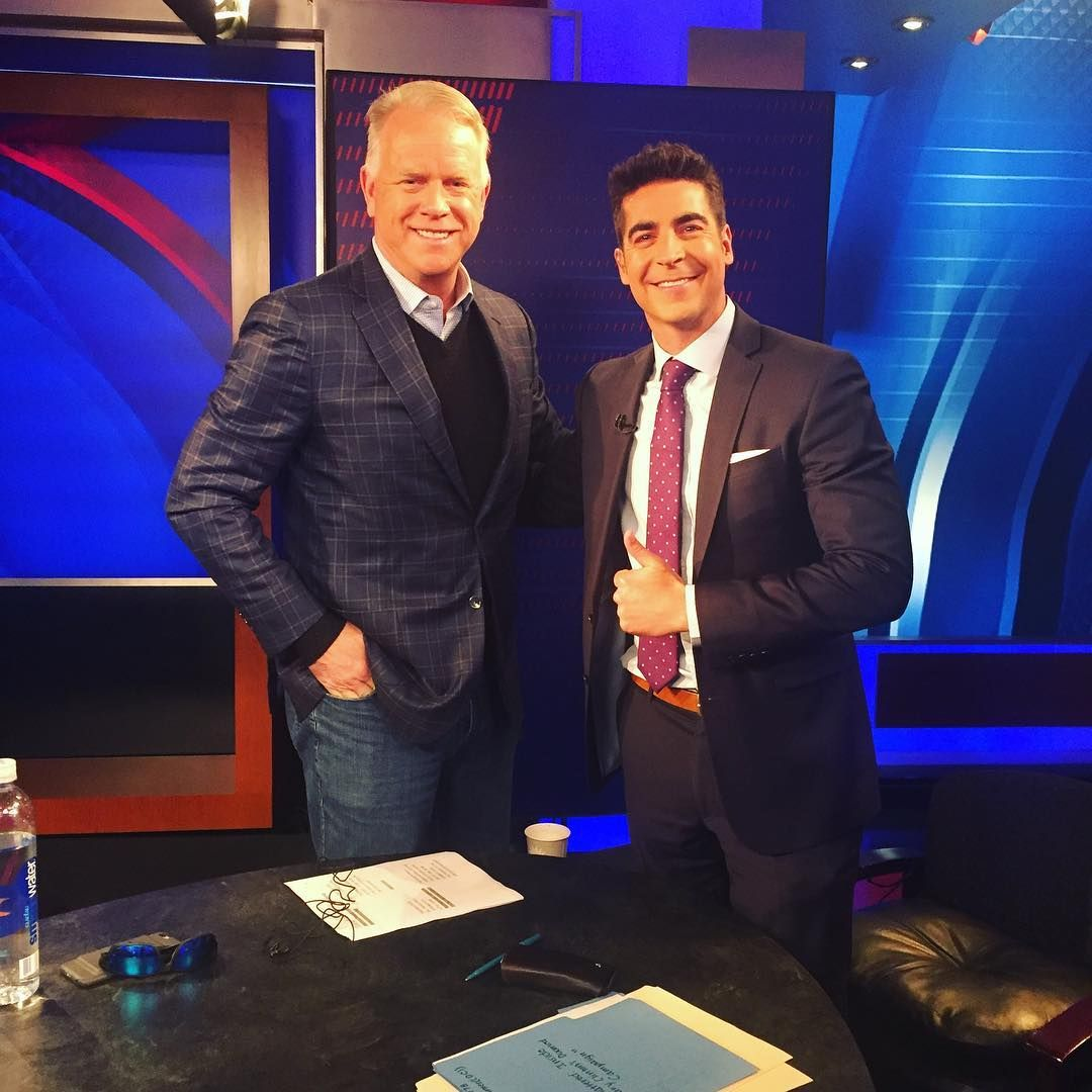 Image may contain 2 people Jesse watters, Boomer