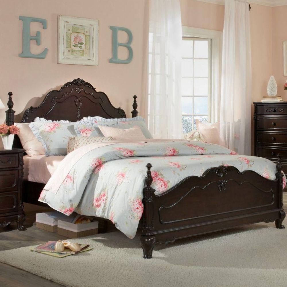 Sweet 11 Cinderella Inspired Bedroom Designs : Picturesque Peach Cinderella  Themed Bedroom Design With Dark Brown Furnish Wood Bed Frame And.