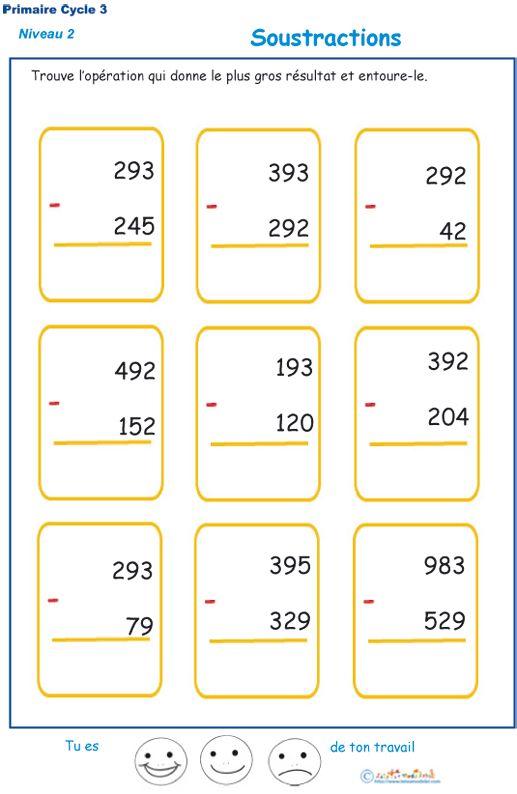 soustraction3.jpg (517×794) | Multiplications cm1 ...