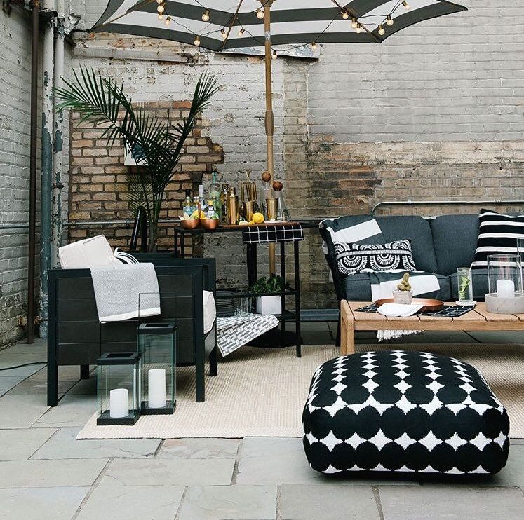 Black and white outdoor decor #target #project62 - Black And White Outdoor Decor #target #project62 Outdoor Decor